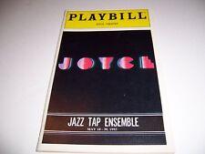 MAY 1993 JOYCE THEATRE PLAYBILL - JAZZ TAP ENSEMBLE - LYNN DALLY SAM WEBER GRANT