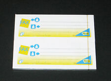 2er Set Post-it FAX Haftnotizen von 3M, 100x37mm, 50 Blatt/Block, NEU & OVP