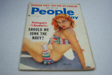 People Today cheesecake magazine April 1957 Abbe Lane  072812EL