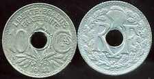 10 centimes LINDAUER  ZINC 1941 pas de points et   souligné  ( bis )