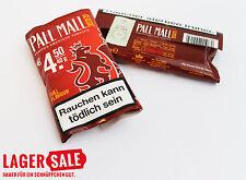 5x Tabak Pall Mall  Original Blend Zigaretten Zigarettentabak 40 g