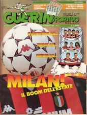 GUERIN SPORTIVO=N°36 1988 LXXVI=BONIEK=SANTOS=TITA=VINCZE=DI BARTOLOMEI=MILAN=