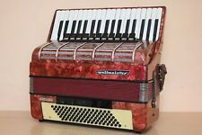Accordion Weltmeister Consona 96 Bass Semi - Cassotto LMMH Fisarmonica + Case