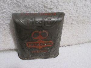 vintage Twin Oaks Mixture  tobacco tin lot A