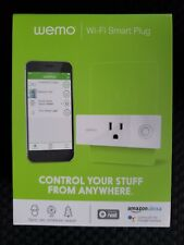 New Wemo Mini Wi-Fi Smart Plug- Alexa & Google Assistant [factory sealed]