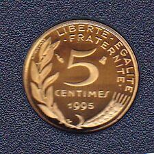 5 CENTIMES MARIANNE 1995 DU COFFRET BE
