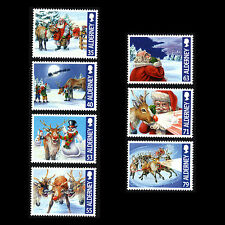 "Alderney 2013 - Christmas ""Rudolph the Red-Nosed Reindeer"" - Sc 477/83 Mnh"