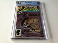 PUNISHER LIMITED SERIES 4 CGC 9.6 WHITE PAGES JIGSAW ZECK GRANT MARVEL COMICS