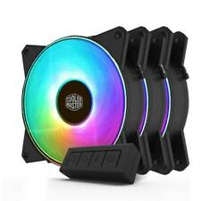 Cooler Master MasterFan MF120R ARGB 120mm Fan - 3 Pack + LED Controller