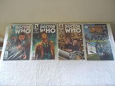 "Lot Of 4 "" NIP "" Comic Books ,3,Doctor Who,1,Keith C.Bradburys "" GREAT COLLECTIB"