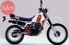 Honda XLX 250R (1984) - Workshop Manual on CD (In portuguese)