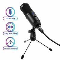 Kondensator-USB-Mikrofon mit Stativständer für Studio-Aufnahmespiel-Chat-Co P3H2