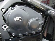 Honda CBR1000RR Fireblade 2004 R&G Racing Engine Case Cover PAIR KEC0013BK Black