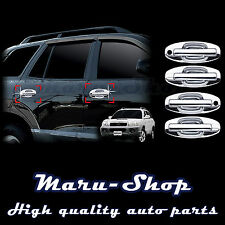 Chrome Door Handle Catch Cover Trim/12pcs for 01~06 Hyundai Santa Fe