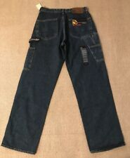 NAUTICA JEANS CO Carpenter Loose Fit Blue Jeans Tag size 30x34 NEW #D6