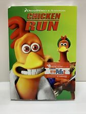 Chicken Run Aardman DreamWorks Animation Kids (Dvd, 2006 Widescreen) New Sealed