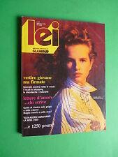 LEI Glamour Settembre 1985 Isabelle Pasco Juliette Binoche L Wendel Iris Peynado