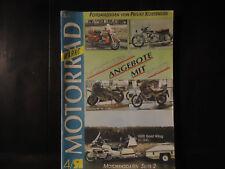 Motorrad Markt 4 / 1991 Harley FLHT Viktoria V 35 Gold Wing Aprilia 600 ZXR 750