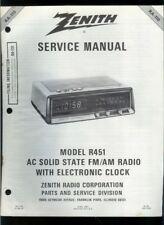 Zenith clock radio in Vintage Parts & Accessories | eBay