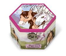 Nici 38763 - Soulmates Pferde Schmuckkästchen Schmuckschatulle mit Spiegel
