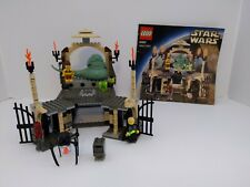 Lego Star Wars 4480 Jabba's Palace 100% complete w/ figures and manual