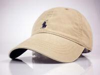 Hot!! Khaki Hat Peaked Baseball Cap Polo Outdoor sport cap Leather strap 15PO10K