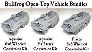 Bullfrog Open-Top Vehicle Bundles