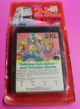 Mego 2-Xl Talking Robot 8 Track Player Tape Program Calculator 1970s W/ Package