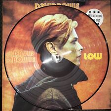 DAVID BOWIE, LOW, 180 GRAM PICTURE DISC VINYL, LIMITED EDITION LP, IMPORT