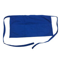 6 Pack Lot Opromo Restaurant Half Waist Apron with 3 Pockets for Cafe Waiter