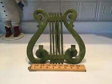 Vintage Cast Iron Music Rack Book Stand Easel Holder Display