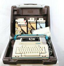 VNTG SMITH CORONA CORONAMATIC 2200 W/ HARD CASE.CARTRIDGES, MANUAL ELECTRIC