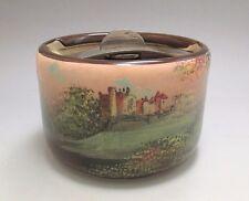 Antique ROYAL DOULTON 'Ardencapel Castle' Landscape Scene Tobacco Jar ca.1920's