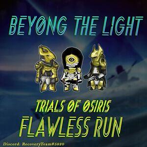 Trials of Osiris Flawless guaranteed PC/Cross Save/ LEGIT PLAY