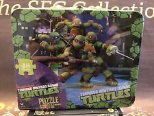 Teenage Mutant Ninja Turtles 48 PC Puzzle in a Lunch Box/Tin Nickelodeon NEW