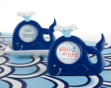 Nautical Whale Ocean Theme Frame Baby Shower Favors
