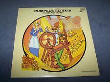 Rumpelstiltskin and Hansel and Gretel ~ Children's Theatre Vinyl ~ CT 3 ~ Damont