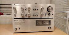 Mitsubishi set DA-A600 and DA-P600  Power Stereo Amplifier and Preamplifier