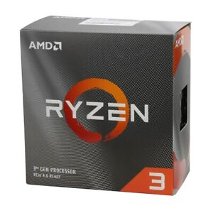 AMD Ryzen 3 3100 Processor with Wraith Stealth Cooler