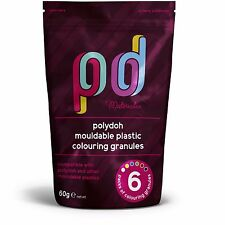Polydoh Mouldable Plastic Colouring Granules / pigment for polymorph plastimake