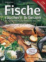 FISCHE räuchern & beizen Tischräuchern Räucherofenbau Fisch Rezepte Buch Hauer