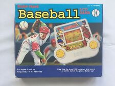 Radio Shack Baseball LCD Game Complete With Box & Instructions Tested Works NICE
