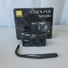Nikon Coolpix S6800 16 MP Camera Wifi Black Different Box Works Perfect