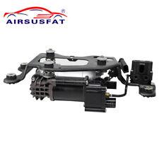 Air Suspension Compressor + Valve Block 37206875177 For BMW X5 F15 F16 F85 F86