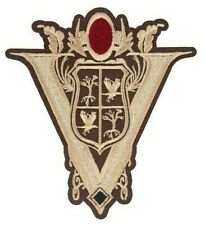 """Twilight New Moon Volturi Crest Tower Embroidered Sewn/Iron On 4"""" x 3.75""""  Patch"""