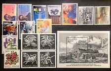 Iceland Year Set 1988 Complete - All Issues with Blocks - MNH - EXCELLENT!