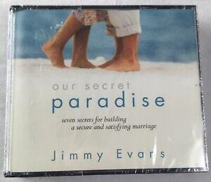 Our Secret Paradise Jimmy Evans 678407226028 audiobook Marriage Today Cd Set