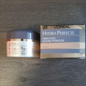 L'oreal Hydra Perfecte Perfecting Loose Powder-Deep NIB sealed