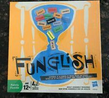 Funglish Family Board Game NIB Factory Sealed Hasbro Ages 12 & Up