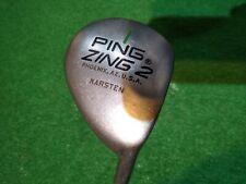 Ping Zing 2 Driver Green Dot Karsten 201 stiff graphite